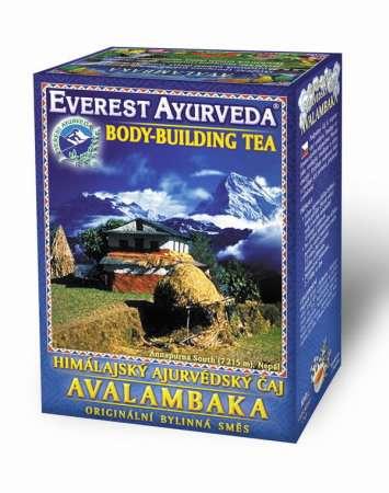 Himálajské ajurvédské bylinné čaje - AVALAMBAKA - Svaly a tělesná stavba Everest Ayurveda
