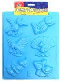 Zobrazit detail - Plastová forma Ptáci 20 x 30 cm