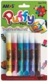 PUFFY - nafukovací barvy na textil 10,5ml x 6ks