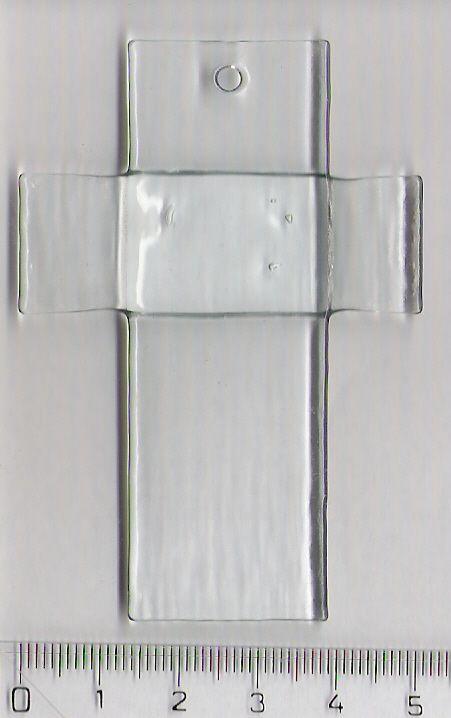 Sklíčko KŘÍŽ I. 72 x 58 mm