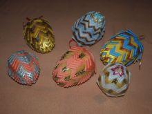 Velikonoční Vejce polystyren 9 cm - 1ks