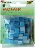 Mozaika LESKLÁ 10x10mm- modrý mix
