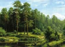 Zobrazit detail - Reprodukce krajinka 18 x 12,5 cm