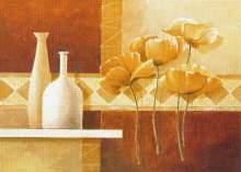 Zobrazit detail - Reprodukce na decoupage MÁKY 19 x 14cm