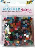 Mozaika LESKLÁ mix barev 5x5mm