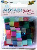 Zobrazit detail - Mozaika LESKLÁ mix barev 10x10mm