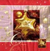 Ubrousek 33x33 Hvězda