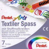 Zobrazit detail - Voskovky na textil sada 7 barev