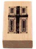 Zobrazit detail - Dřevěné razítko 50 x 30 mm