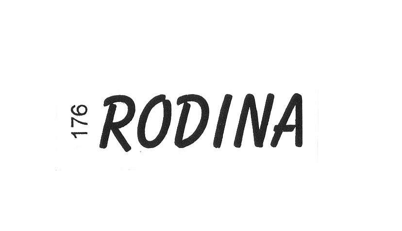 Razítkový štoček gumový RODINA 3,6x1cm