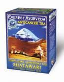 Himálajské ajurvédské bylinné čaje - SHATAWARI - Onkologická terapie