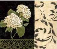 Reprodukce na decoupage 30 x 30 cm HORTENZIE