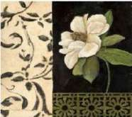 Zobrazit detail - Reprodukce na decoupage 30 x 30 cm MAGNOLIE