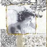Zobrazit detail - Ubrousek 33 x 33 cm ANDÍLEK
