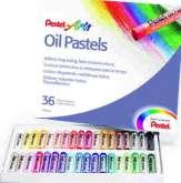 Olejové pastely PENTEL- 36 barev