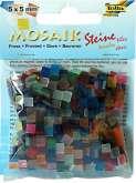 Zobrazit detail - Mozaika LEDOVÝ EFEKT mix barev 5x5mm