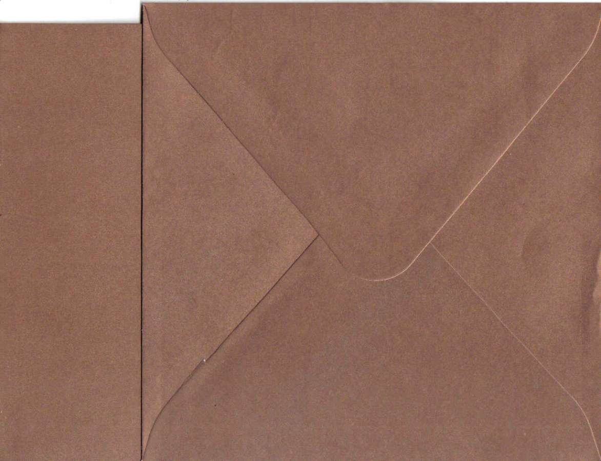 Přáníčko s obálkou METALICKÉ zlaté 15x15cm 240g/m2