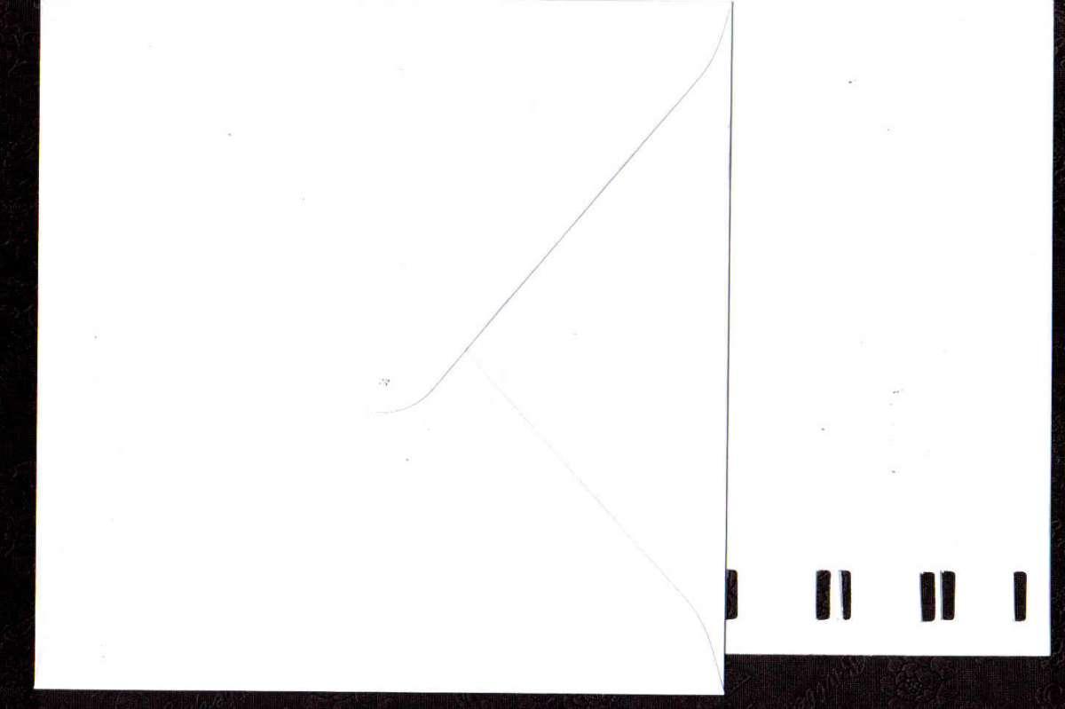 Přáníčko s obálkou s výřezem BÍLÉ 15x15cm 240g/m2