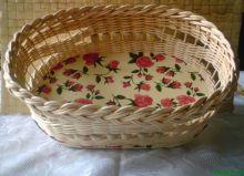 Košík - růžičky