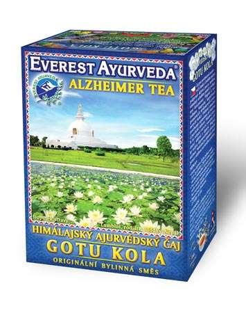 Himálajské ajurvédské bylinné čaje - GOTU KOLA - Degenerace mozkových funkcí Everest Ayurveda