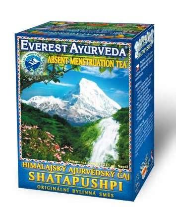 Himálajské ajurvédské bylinné čaje - SHATAPUSHPI - Absence menstruace Everest Ayurveda