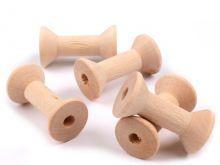 Zobrazit detail - Dřevěná cívka 20x40 mm - 1ks