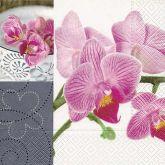 Zobrazit detail - Ubrousek 33x33 Orchidej