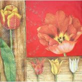 Zobrazit detail - Ubrousky 33 x 33 cm TULIPÁNY