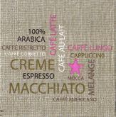 Zobrazit detail - Ubrousek 33 x 33 cm CAFÉ