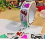 Zobrazit detail - Dekorační lepící páska WASHI 15mm STAVBY - 5m