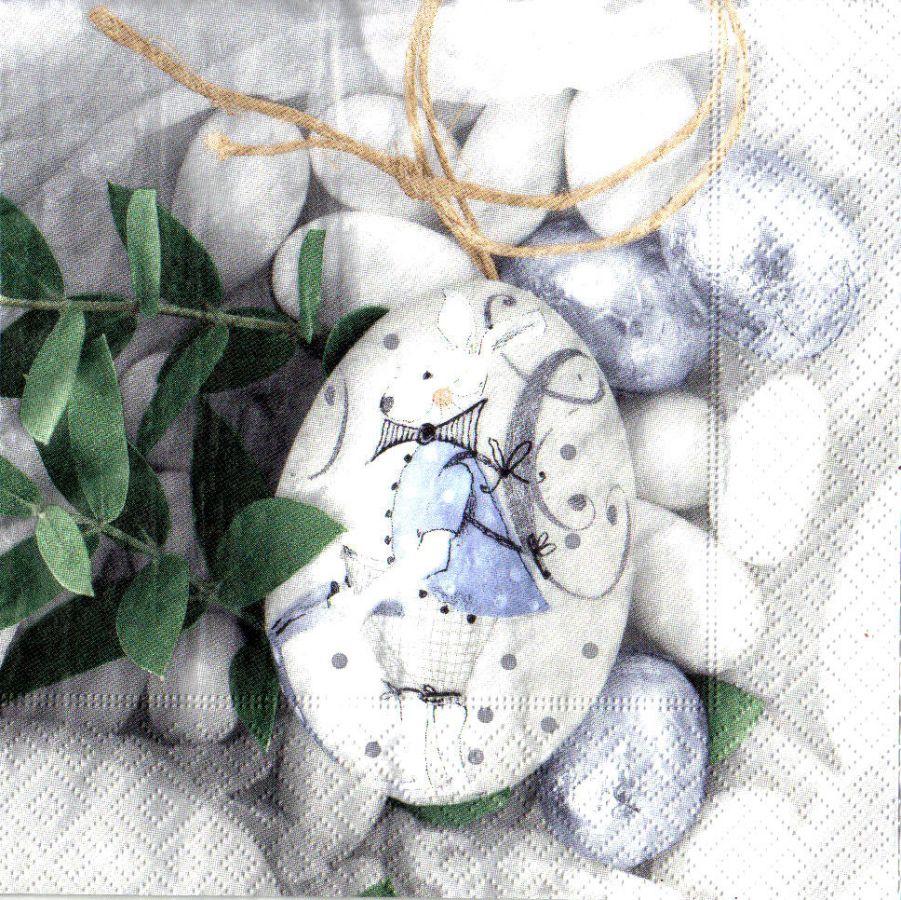 Ubrousek 33x33cm Velikonoční Kraslice k hobby tvorbě, k dekoraci a na decoupage