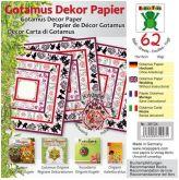 Origami GOTAMUS červené 15 x 15 cm 80gm/2 - 62ks