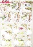 D - Decoupage papír A4 SVATEBNÍ