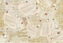 Zobrazit detail - Rýžový papír  NOTY 35x48cm