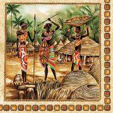 Ubrousky 33 x 33 cm AFRIKA