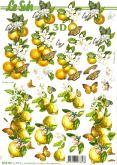 3D - Decoupage papír A4