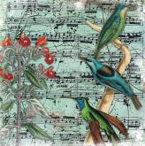 Zobrazit detail - Kreativní ozdobný papír 150g/m2 30,5 x 30,5 cm