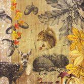 Zobrazit detail - Ubrousek 33 x 33 cm ZVÍŘÁTKA