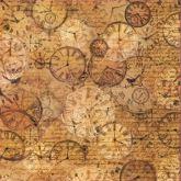 Rýžový papír HODINY 14g/m2 50 x 50 cm