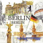Zobrazit detail - Ubrousky 33 x 33 cm BERLÍN