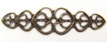 Zobrazit detail - Dekorace filigránová Ornament 5,3cm