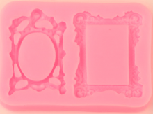 Forma silikonová RÁMEČKY 9,6 x 6,9 cm