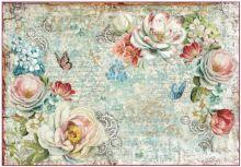 Zobrazit detail - Rýžový papír RŮŽE 33x48cm
