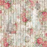 Zobrazit detail - Rýžový papír 14g/m2 RŮŽE 50 x 50 cm