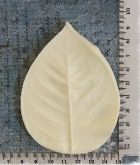 Forma tvarovací na Foamiran  list růže 9,5 x 7 cm