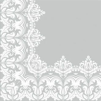 Ubrousek 33 x 33 cm KRAJKA - na decoupage a hobby tvorbu