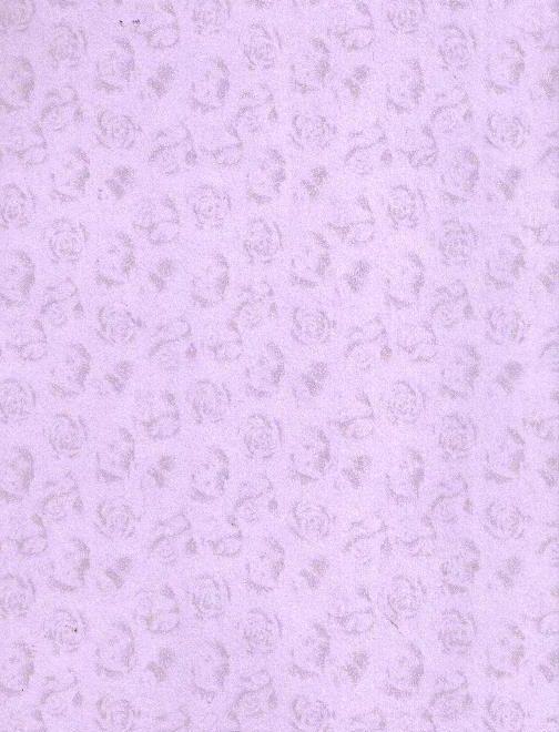 Kreativní papír levandulový RŮŽIČKY A4 220g - 1arch
