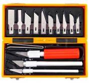 Velká profi sada vyřezávacích nožů v krabičce EXTOL - 14ks