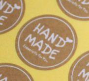 Nálepky HandMade 1 Arch (12ks nálepek/1 arch)