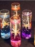 Gel čirý na výrobu svíček + 2 knoty - 200 ml